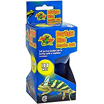 Amazon Com 4 Pack Zoo Med Daylight Blue Reptile Bulbs