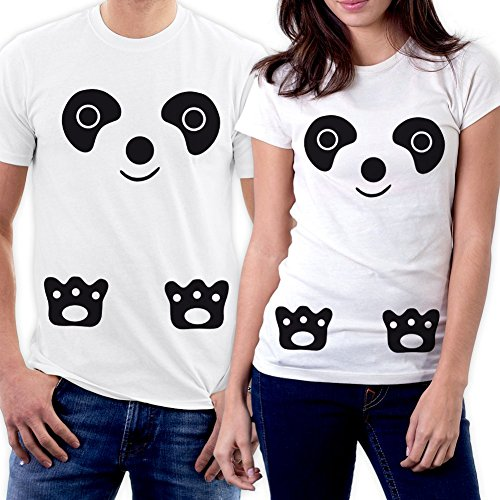 Hsn Gift Card (PicOnTshirt Funny Matching Couple Lover Novelty T-shirts Men XL / Women XS Design 149)