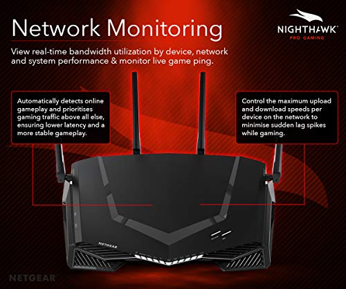 NETGEAR XR500 Nighthawk Pro Gaming WiFi Router - Dual-Band