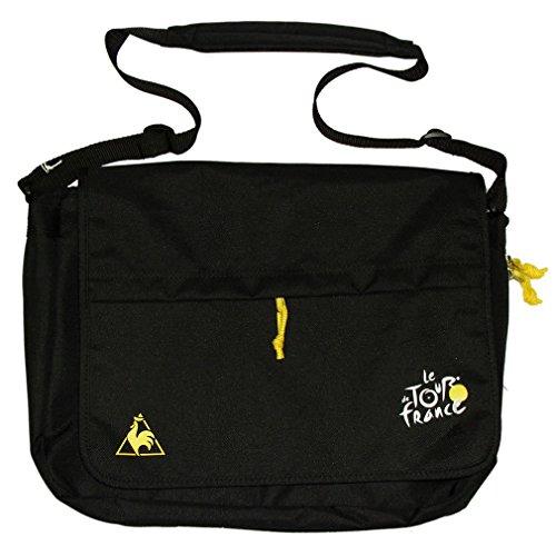Le Coq Sportif-offizielle 'Tour de France Centenary'Collector's Messenger-Tasche, Schwarz