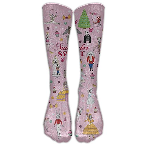 Nutcracker Costumes For Sale (SOA7Q Soldier Figurine Nutcracker Funny Comfortable Athletic Socks Long Socks Tube Sock Unisex Colorful For School Knee Socks)