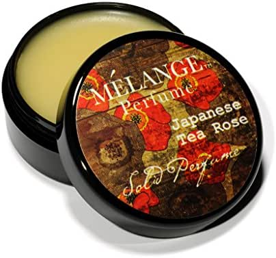 Melange Japanese Tea Rose & Sakura Solid Perfume Single .56 ounces