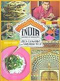 capa de Índia. Sabores e Sensações