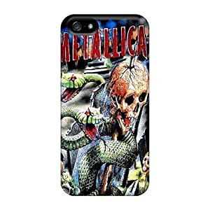 For XaR19448ZFUk Metallica Protective Cases Covers Skin/iphone 5/5s Cases Covers