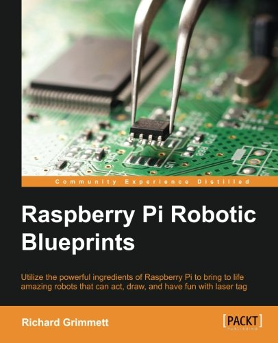 Raspberry Robotic Blueprints Richard Grimmett product image