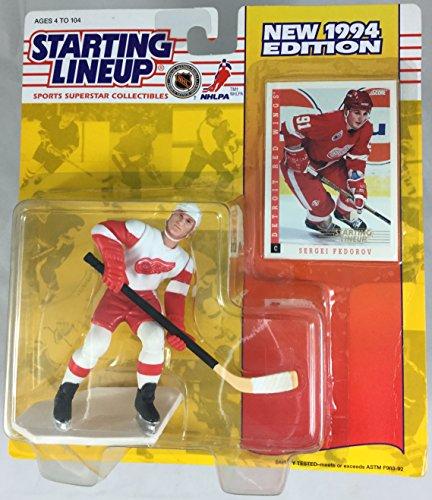 1994 KENNER STARTING LINEUP NHL SERGEI FEDOROV DETROIT REDWINGS SEALED IN PACKAGE (Nhl Sergei Fedorov)