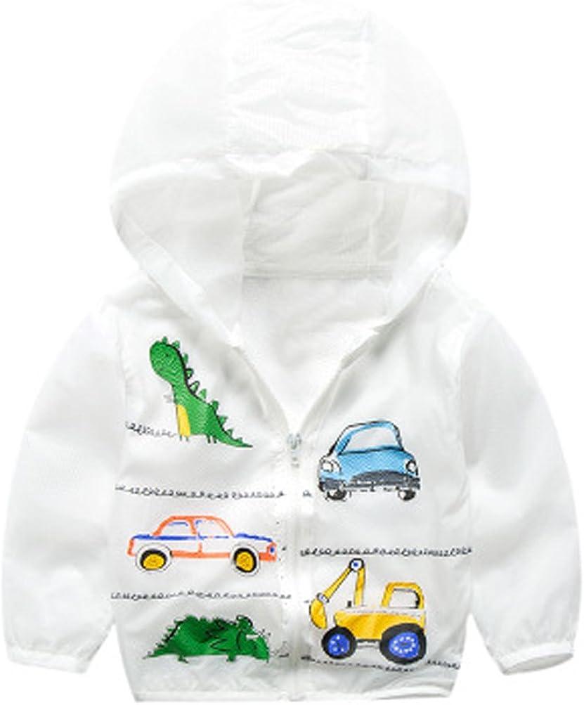 AODEW Unisex Kids UV//Sun Protection Zipper Hoodie Coat Lightweight Ultrathin Windbreaker Jacket for Travel Beach