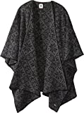 Dale of Norway Women's Rose Shawl E-Black/Smoke One Size