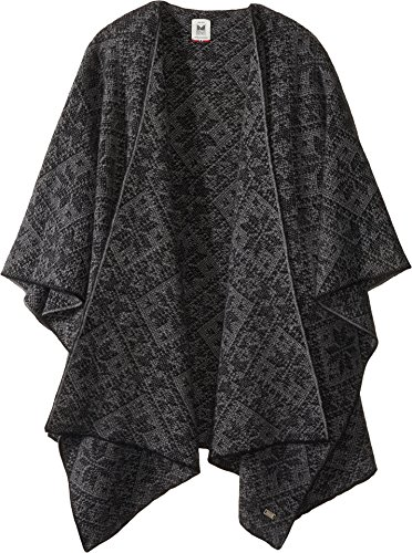Dale of Norway Women's Rose Shawl E-Black/Smoke One Size by Dale of Norway