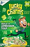 Lucky Charms Limited Edition with Green Clovers Cereal 11.5 Oz Box (2 Pack)