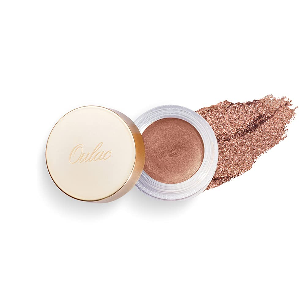 OULAC Skin to Skin Cream Color Eyeshadow, Enriched With Vitamin E & Natural Oils Blend, Crease Free and Easy to Blend, 12 grams / 0.42 ounces, Honey Bunny (05)