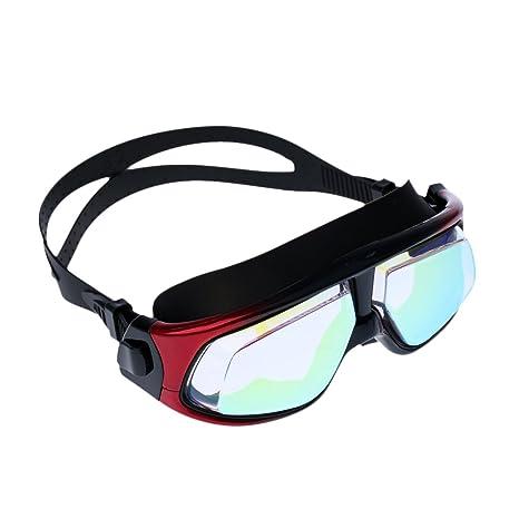 d334ec4454a6 Phenovo Men Women Waterproof Anti Fog Swimming Goggles Large Frame UV  Protection Swim Glasses Professional Swim