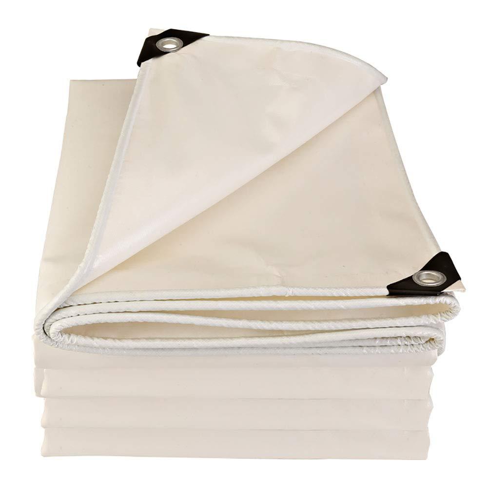 Plane Regen und Regen Dual-Use-Polyester verschleißfeste Anti-Aging mit perforierten 500g Outdoor 500g perforierten   ㎡, UV-Schutz, weiß e3bc84