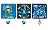 Disney Monsters University 3-Pack Wall Hooks
