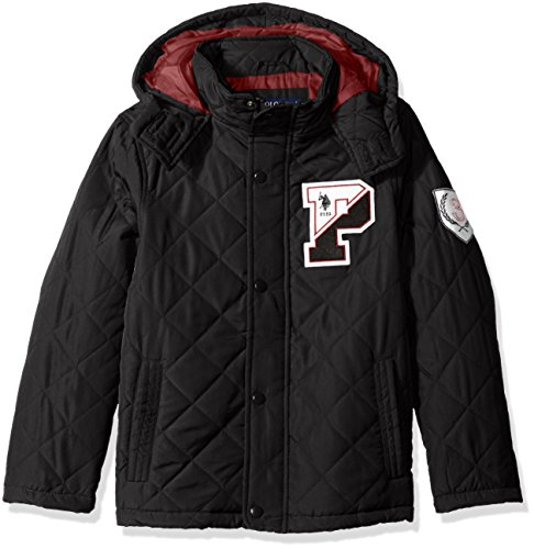 us-polo-assn-boys-big-boys-mid-weight-quilted-hooded-jacket-black-14-16