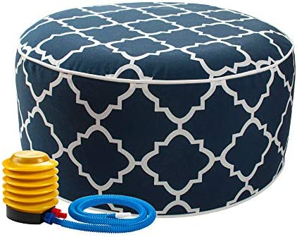 IN4 Care Inflatable Ottoman footrest Stool
