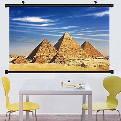 Gzhihine Wall Scroll Posteregypt cairo giza general view of