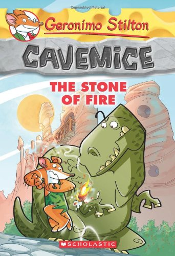 Cavemice - 1 The Stone of the Fire: 01 (Geronimo Stilton)