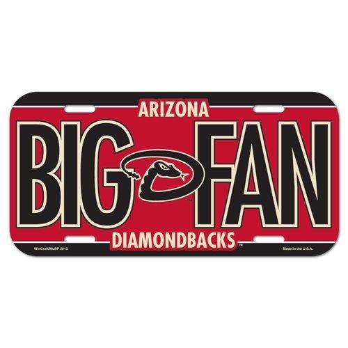 MLB Arizona Diamondbacks License Plate