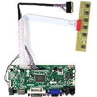 VSDISPLAY HDMI VGA DVI Audio LCD Driver Board For 14 15.6 LTN140AT02 LTN156AT17 1366x768 LED 40Pin LCD Panel