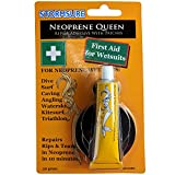 Stormsure Neoprene Queen Glue quick fix 1st aid for wetsuits - GLUE + Neoprene Patches