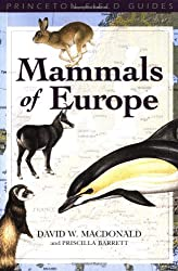Mammals of Europe (Princeton Field Guides)