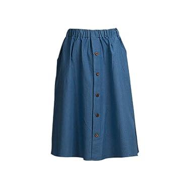 FELZ Falda Mujer Corta Falda Mujer Talla Grande Falda de Mujer ...