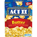 popcorn act ii - Act II Popcorn Butter, 2.75 Ounce Bags, 6-Count, Pack of 6