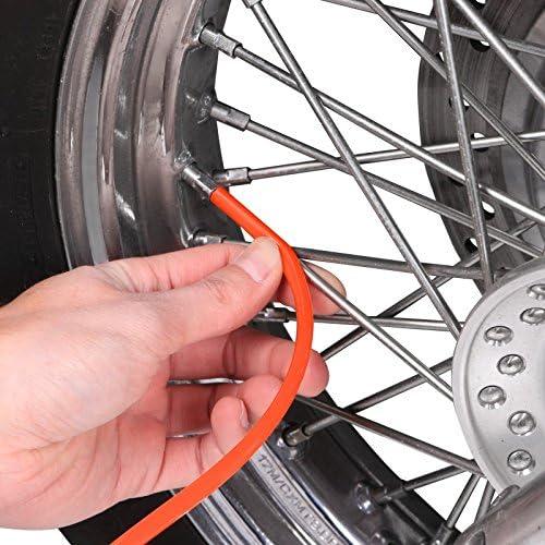 SMR 450 EXC-F 250//350// 450//500 LC4-E 640 SMC 625 SX-F 250//350// 450 Orange Couvre Rayon Motea SPX pour KTM EXC-E 300 SC 625 LC4 SX 620 LC4 Freeride 250 R SX 85//125// 250//525