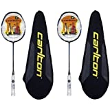 2 x Carlton Airblade Superlite Nano-Pulse Badminton Rackets RRP £400