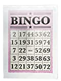 Bingo Score Card- Large Cotton Tea Towel