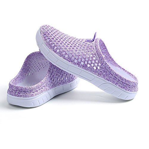 Purple Out Sport Couples Outdoor Slippers Flops Flip Hollow Sandal Summer Hibote Breathable Unisex New Beach Shoe Shoes Casual Shoes I1nHqpU