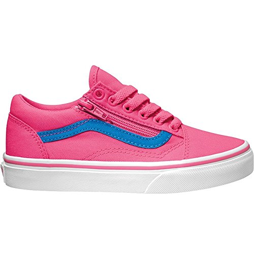 Vans OLD SKOOL ZIP Schuh 2017 neon canvas pink/blue