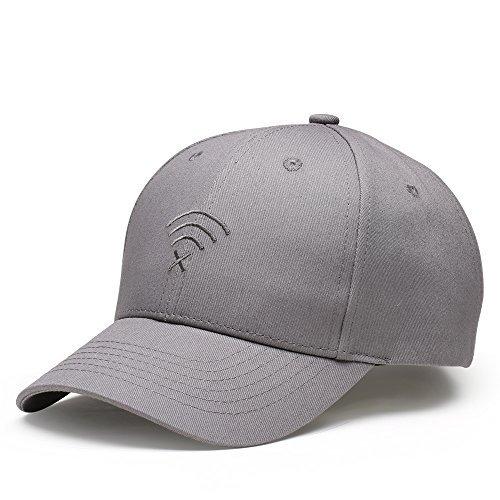LvLoFit Baseball Caps for Men/Women 6 Panel Trucker Sports Cap Hats Size Adjustable (Grey)
