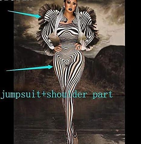 Disfraces de Halloween for las mujeres del patrón, cebra del traje ...