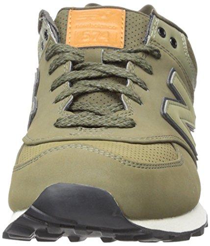 574 EU 43 Balance Olive Verde Zapatillas para Hombre New P685q1ww