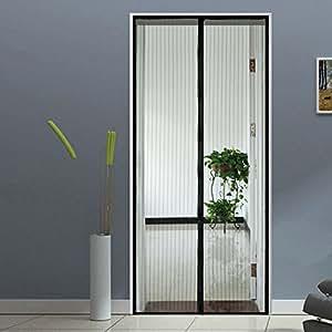 Homdox Magnetic Screen Door Retractable Heavy Duty Mesh