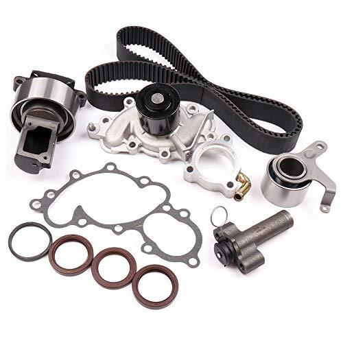OCPTY STiming Belt Kit Including Timing Belt Water Pump with Gasket tensioner Bearing etc Compatible for 1988-1992 Toyota 4RUNNER 3.0L 2958CC V6 SOHC Eng. Code 3VZE