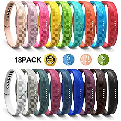 Fitbit Flex Bands JOMOQ Silicon Replacement Band for 2016 Fitbit Flex Sports Classic Fitness Replacement Accessories Wrist Band Estimated Price £18.66 -