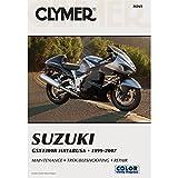 1999-2007 CLYMER SUZUKI MOTORCYCLE GSX1300R HAYABUSA SERVICE MANUAL M265