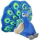Wild Republic Cuddlekins Mini Peacock Plush