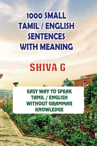 1000 Small Tamil English Sentences With Meaning Speak Tamil