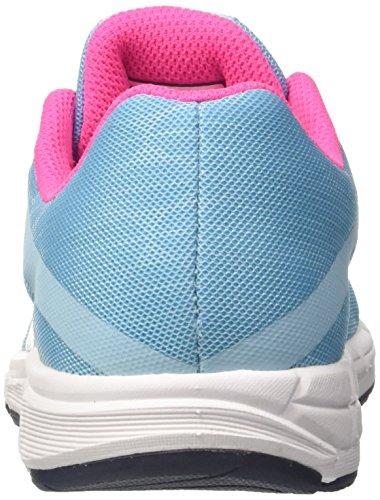 de Mizuno Chaussures Bluetopaz Peacoat Fille Running Pinkglo Multicolore JNR Synchro 1axwq4t