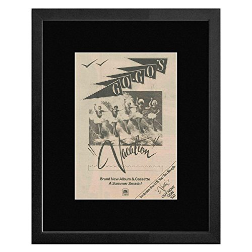 Go-Go's - Vacation Framed and Mounted Print - 38.7x31.2cm