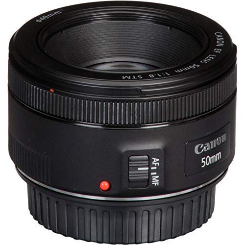 Canon EF 50mm f/1.8 STM Lens with USA Warranty + Filter Kit + Tripod + Lens Cleaning Pen + Accessory Bundle by The Imaging World (Image #7)
