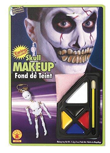 Rubie's Costume Co Skull Make Up Kit (Skull Halloween Makeup Male)