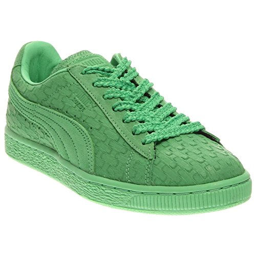 PUMA Women's Suede Classic – Solange Collection Patina Green Geo Sneaker 6 B (M)