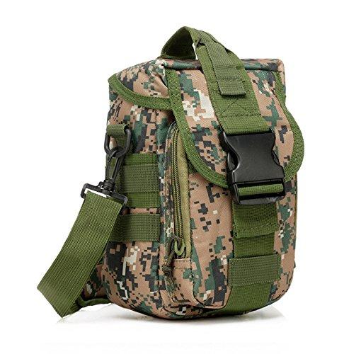 sohodoo 1000D Nylon Outdoor Schulter 43,2cm Nylon Laptop-Tasche Handtasche MC-01