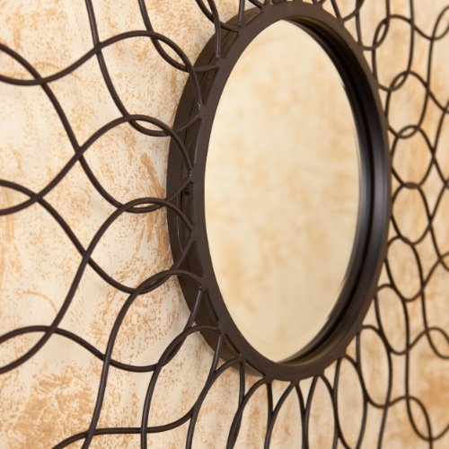 Southern Enterprises Lydia Spiro Mirrored Wall Sculpture