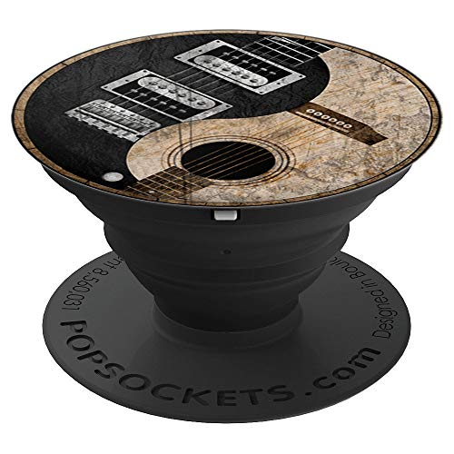 Yin Yang Guitar - PopSockets Grip and Stand for Phones and Tablets -